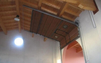 Porte sezionali a soffitto