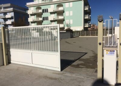 cancello scorrevole automatico san benedetto del tronto ascoli piceno