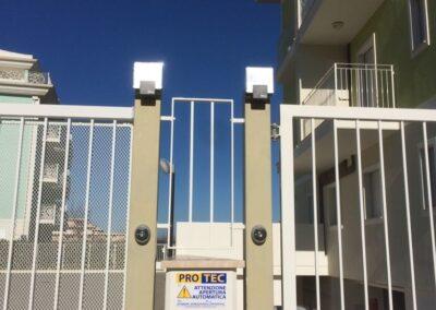 cancello scorrevole automatico