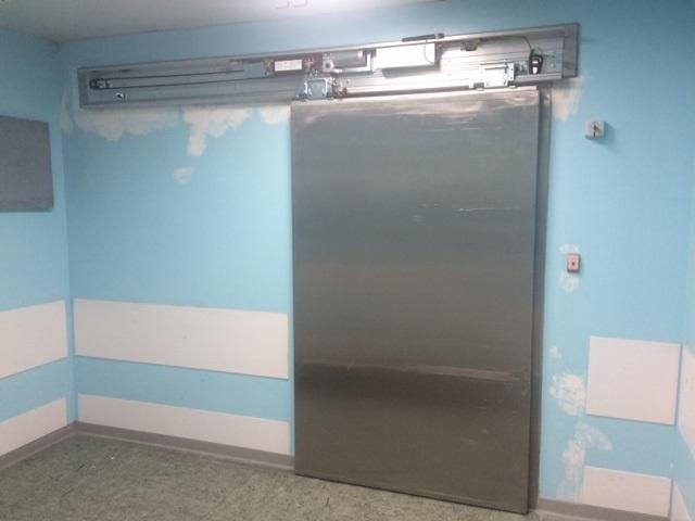 porta automatica per sala operatoria san benedetto del tronto ascoli piceno