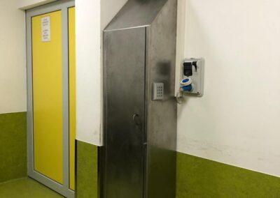 installazione armadio di sicurezza blindato