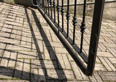 cancello automatico in sicurezza